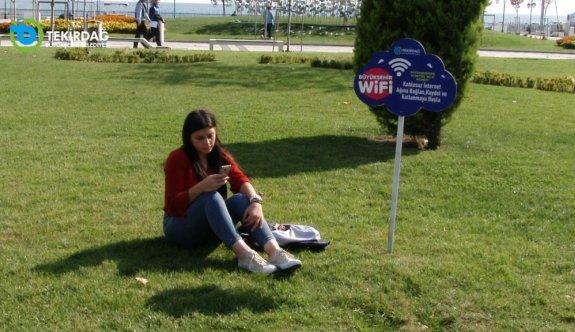 Büyükşehir'in  Wi-Fi Hizmetinden 70.000 Vatandaş Faydalandı