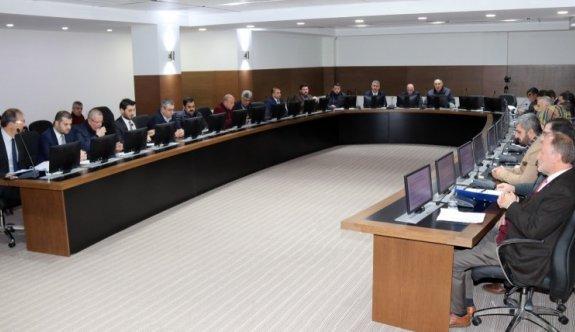 Çerkezköy Ocak ayı meclisleri tamamlandı
