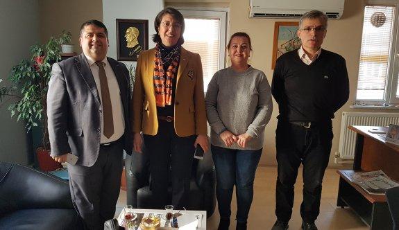 CHP Çerkezköy'den ziyaretler