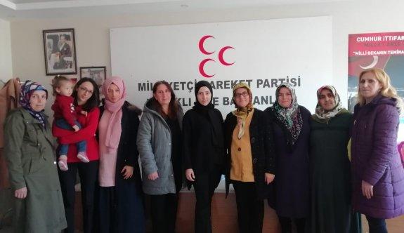 Kapaklılı MHP'li  Kadınlardan açıklama