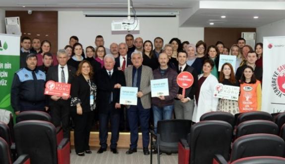 TEMA Çerkezköy Belediyesi Personeline İlklim Değişikliğini anlattı