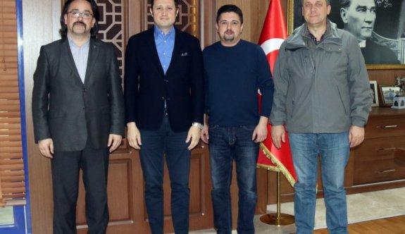 Türk Ocakları'ndan Akay'a ziyaret