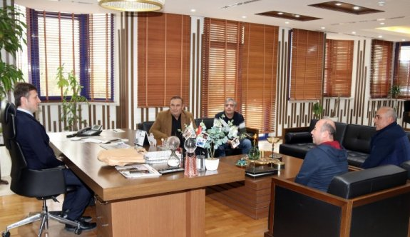 Akay'a Malatyalılar Derneğinden ziyaret