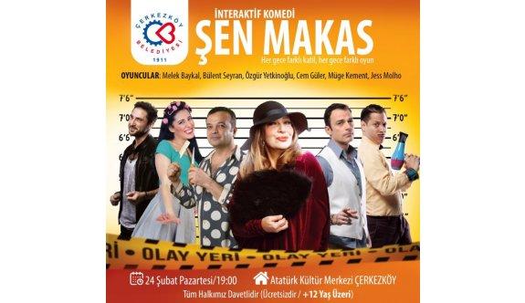 Atatürk Kültür Merkezinde Şen Makas sahnelenecek