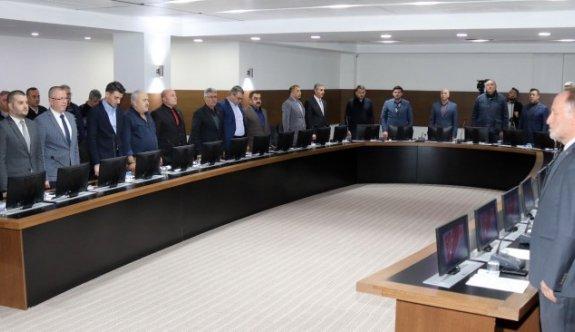 Çerkezköy Şubat ayı meclisi gerçekleştirildi