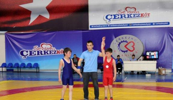 İl Şampiyonasına Çerkezköy imzası