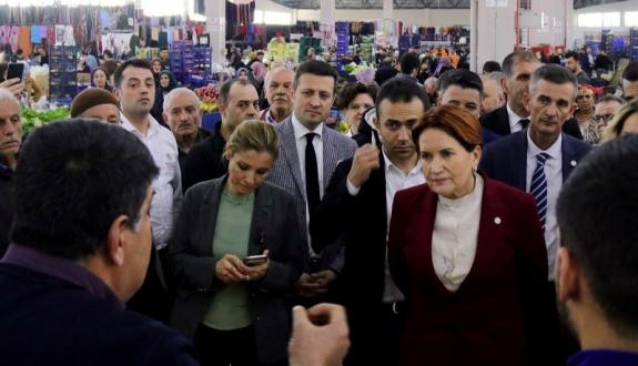 Akşener'den Çerkezköy ziyaretleri