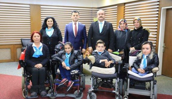 Çerkezköy Engelliler Derneği'nden Başkan Çetin'e Ziyaret