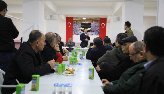 Çetin Halk Gününde vatandaşlarla buluştu