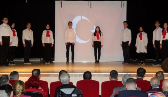 İstiklal Marşı'nın kabülü Çerkezköy'de törenlerle kutlandı