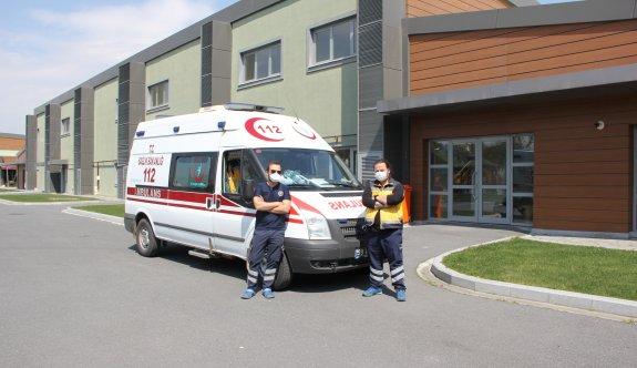 ÇOSB içerisindeki 112 Acil Servis İstasyonu ikiye çıkarıldı