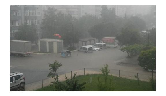 Yağış afete döndü