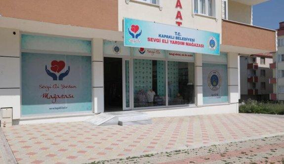 Sevgi Eli Yardım Mağazaları Yeniden Açıldı