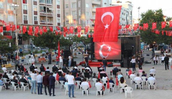 15 Temmuz Demokrasi ve Milli Birlik Günü Anma Programı Düzenlendi