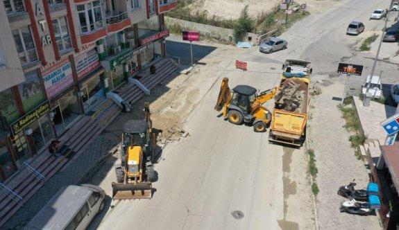 Pınar Bulvarında dönüşüm başladı