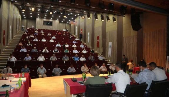 Temmuz Ayı Meclis Toplantısı 1. Oturumu Yapıldı