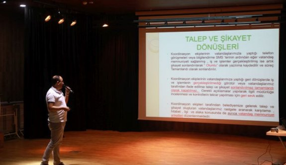 Kalite Yönetimi ve İletişim Eğitimi Düzenlendi