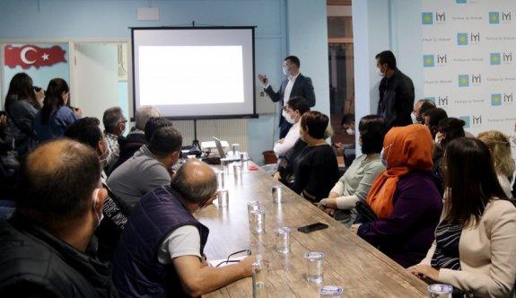 İYİ Parti'ye de projeler anlatıldı