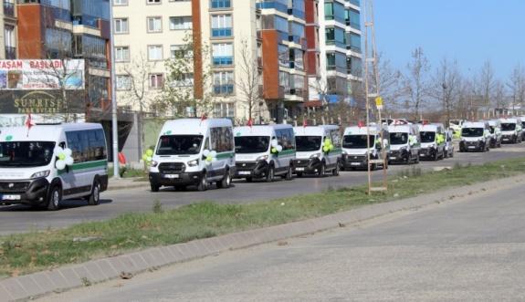 Çerkezköy – Süleymanpaşa yolcu taşımacılığı başlıyor