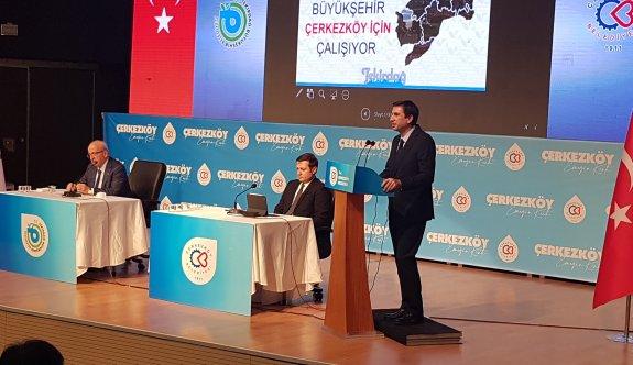 Albayrak ve Akay Çerkezköy'de Basın Mensupları İle Buluştu