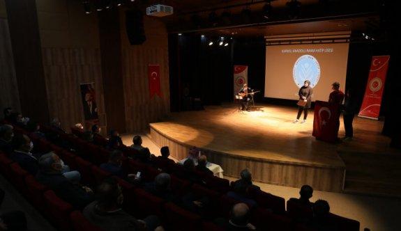 12 Mart İstiklal Marşı'nın Kabulü ve Mehmet Akif Ersoy'u Anma Günü Programı Düzenlendi