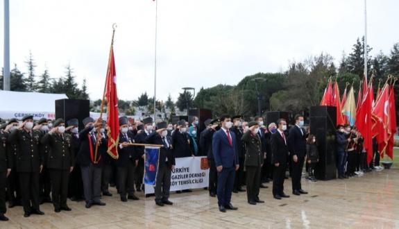 Çerkezköy'de Çanakkale Deniz Zaferi ve Şehitleri Anma Günü Kutlandı