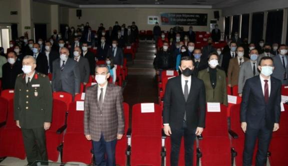 Çerkezköy'de İstiklal Marşımızın 100. Yıldönümü etkinlikleri