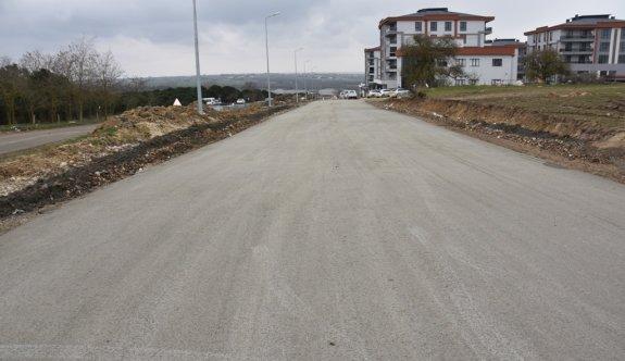 Kuş Bahçe Mevkiinde  beton yol yapımı tamamlandı