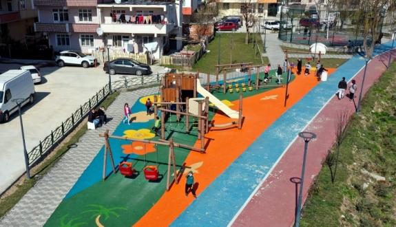 Pınarça deresinin etrafında  değişim