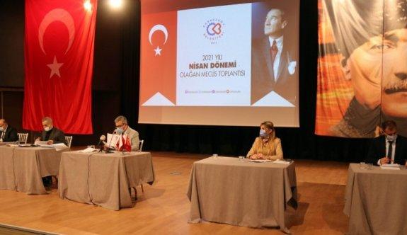 Çerkezköy Belediyesi Nisan 1. Oturum yapıldı
