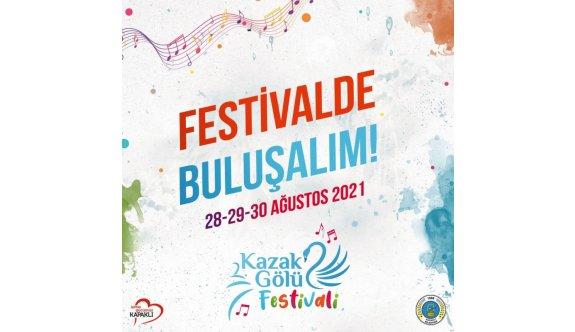 2. Kazak Gölü Festivali Dolu Dolu Geçecek