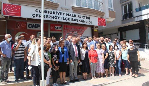 Çerkezköy, Kapaklı ve Saray'da  vatandaşlarla buluştular