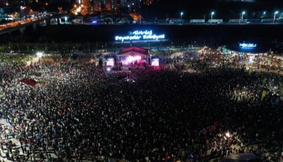 Çerkezköy'de festival rüzgarı esti