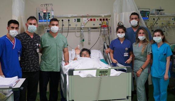 Çerkezköy'de ilk kez böbrek stenti ameliyatı yapıldı