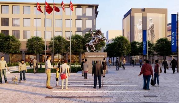 Meydan Altı Otopark Projesi imzalandı