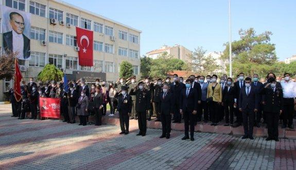 Çerkezköy'de 19 Eylül Gaziler Günü kutlandı