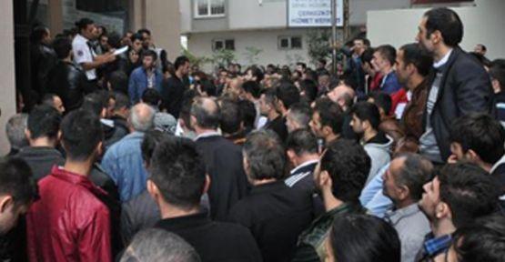 250 kişilik iş görüşmesine 1300 kişi başvurdu