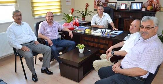 Ak Parti'den Karagöz'e hayırlı olsun ziyareti