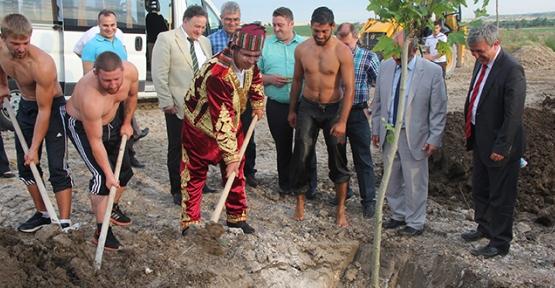Artık Başpehlivanların da bir dikili ağacı olacak