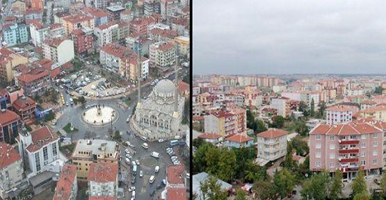 Çerkezköy ve Kapaklı'nın yeni nüfusu