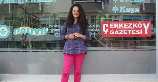 Çerkezköy'de bir yıldız