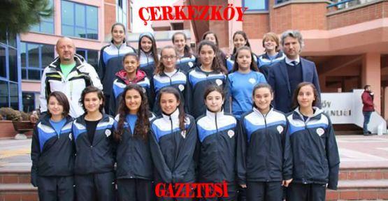 Çerkezköy'ün kızları Anadolu Şampiyonası'nda