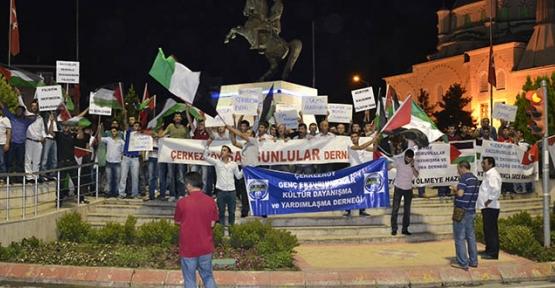 Dernekler Filistin için bir araya geldi