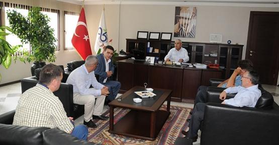 HÖH'ten Başkan Baysan'a teşekkür ziyareti