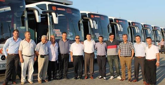 İstanbul Seyahat yeni otobüsleri teslim aldı