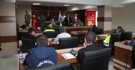 Kapaklı'da Belediye personeline eğitim verildi