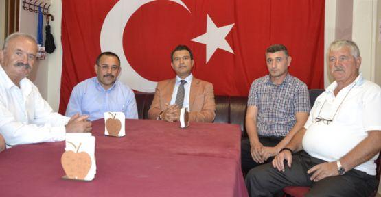 Kaymakam Gürbüz'den Amasyalılara iadeyi ziyaret