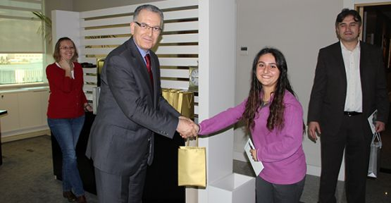 Mehmet Özdoğan'a 'Rol Model' ziyareti