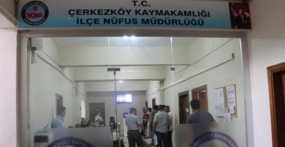 Nüfus Müdürlüğü seçim günü açık olacak