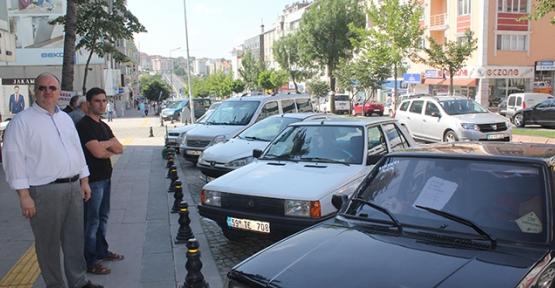 Park eden 5 araçtan 4'ü satılık